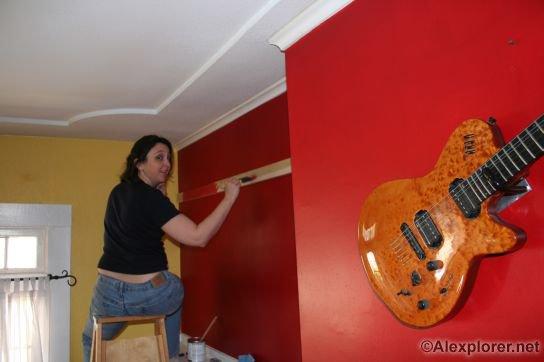 Alexplorer S Axe Hacks Guitar Wall Hangers